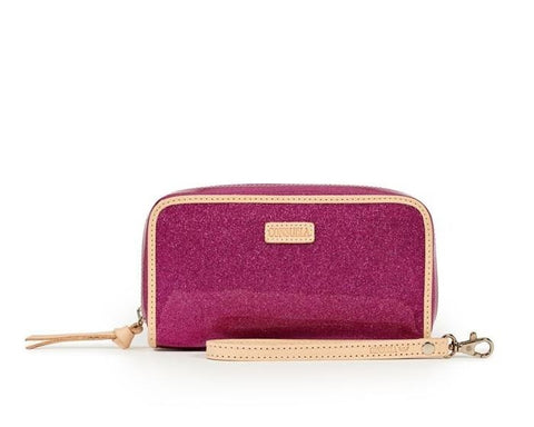 Berry Wristlet Wallet