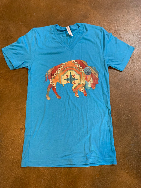 Earthtone Buffalo T Shirt