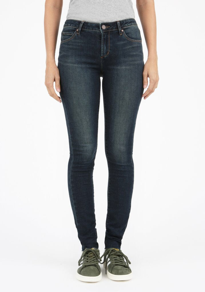 Articles of Society Dark Wash Blue Skinny Ankle