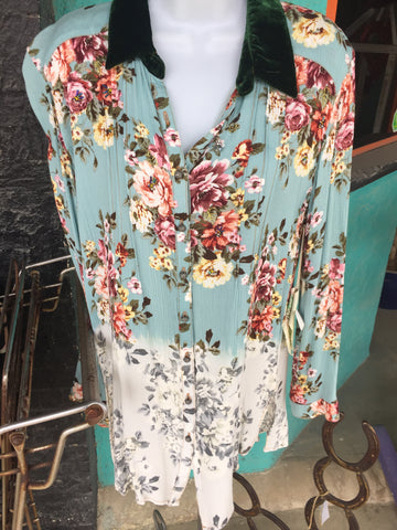 Aratta Floral Blouse