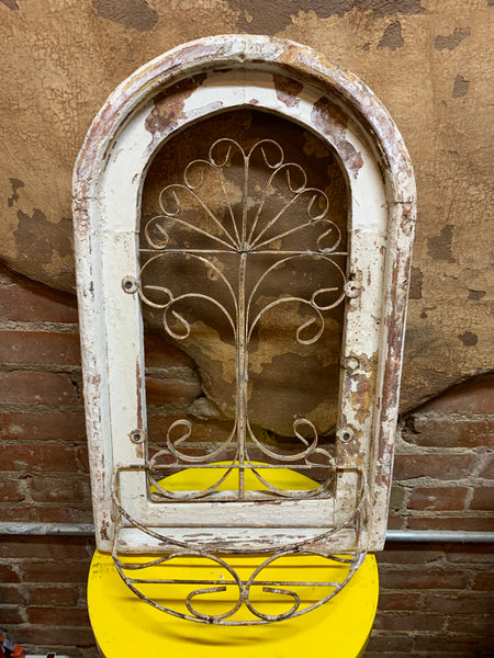 Arched Church Window Planter