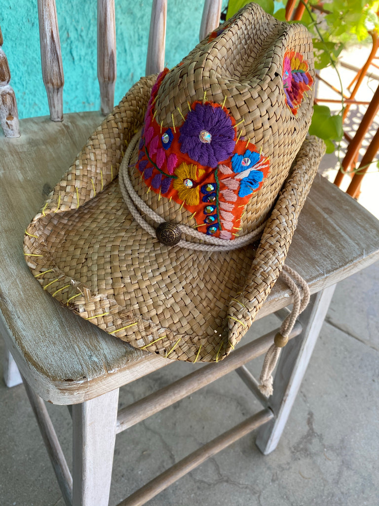 Mexican Embroidery Hat