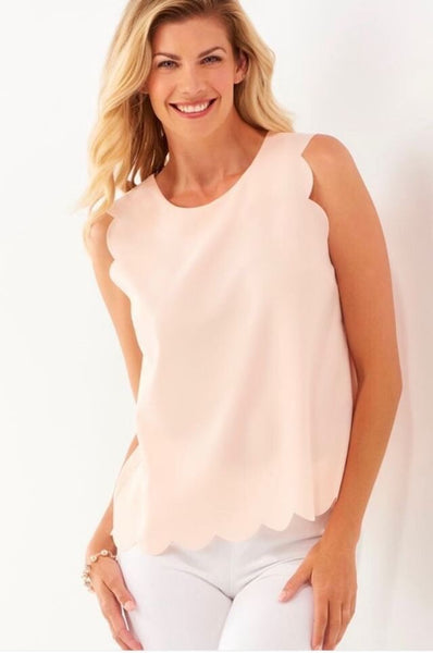 Scalloped Edge Tank