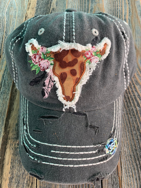 Embroidered Buffalo Hat