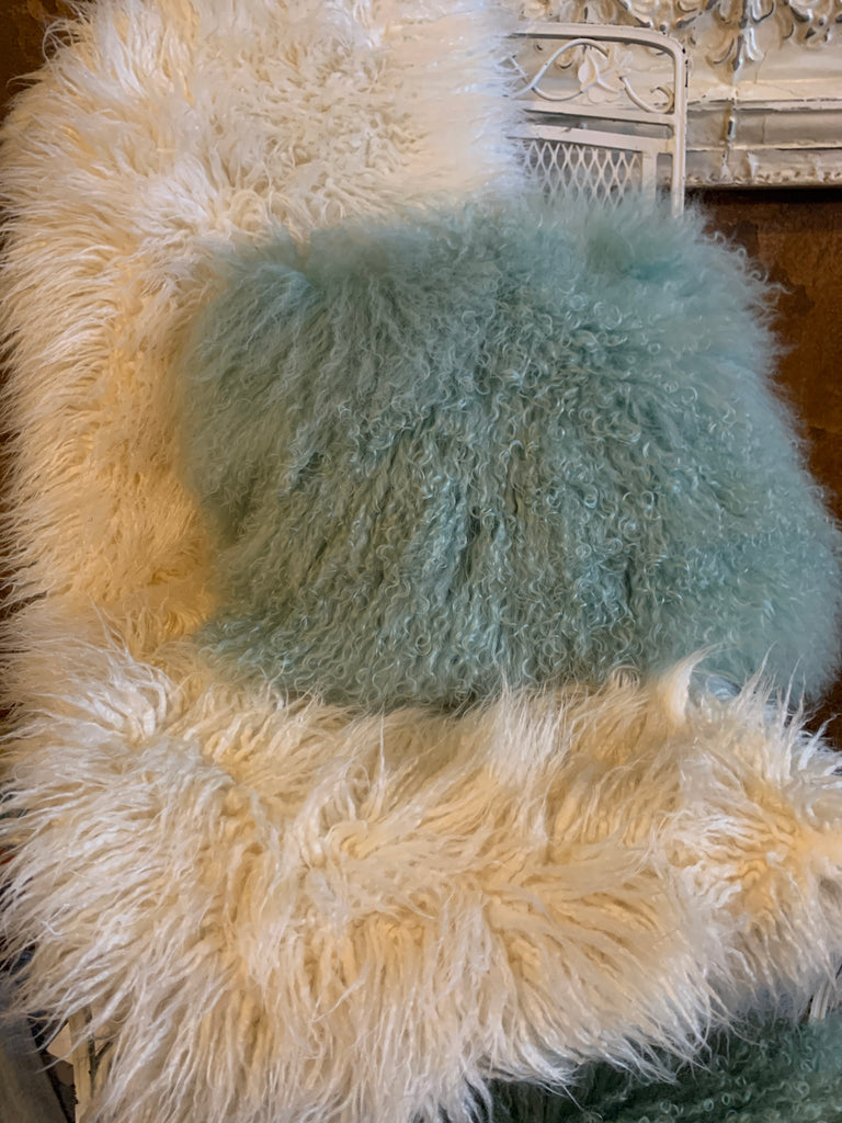 Mongolian Faux Fur Throw