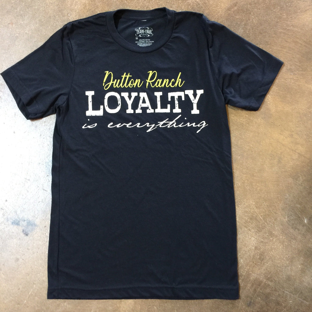 Dutton Ranch Loyalty T Shirt