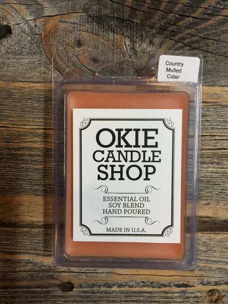 Country Mulled Cider Candles
