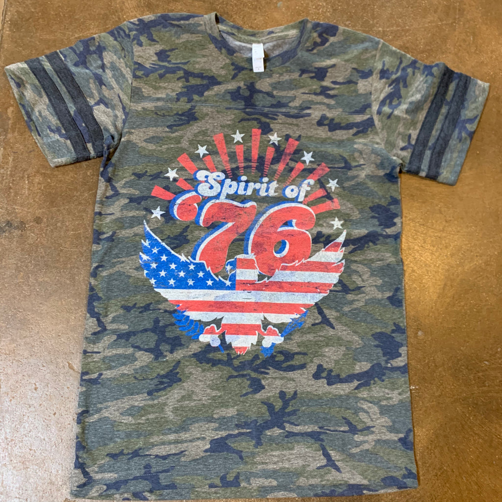 Spirit of 76 Patriotic T Shirt