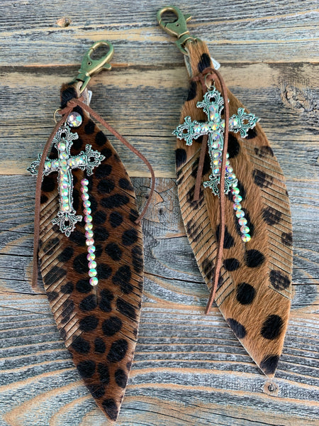 Cheetah Purse Charms