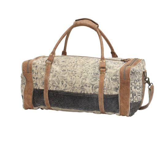 Myra Bag Floral Print & Hairon Traveller