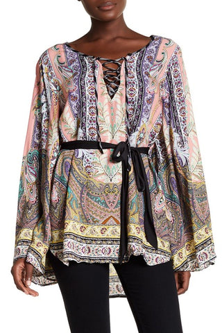 Paisley Power Blouse