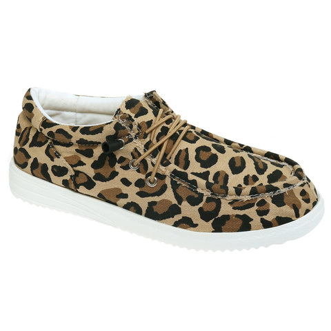 OutWood~Leopard Print Shoes