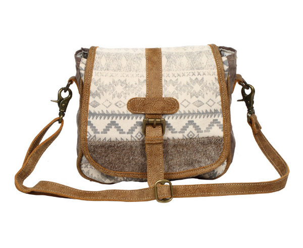 Myra Bag Flapover & Hairon Design Cross Body