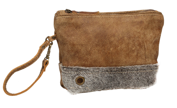 Myra Bag Downgrey Hair Pouch