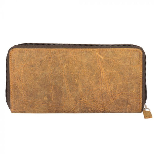 It's All Brown Leather Wallet