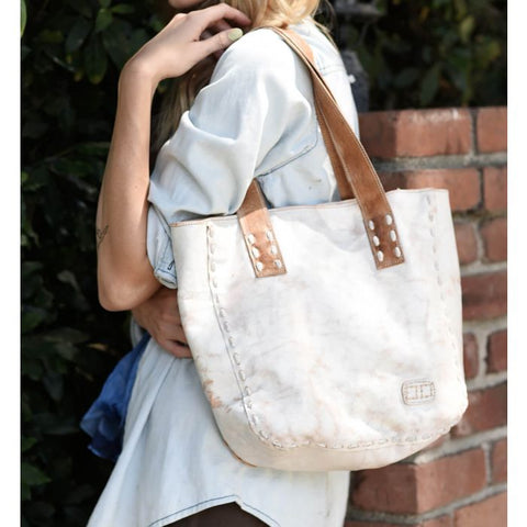 Stevie Nectar Lux Tan Rustic Purse
