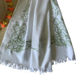 Threads & More Collection: Long Scarves: Summer Leaf Green