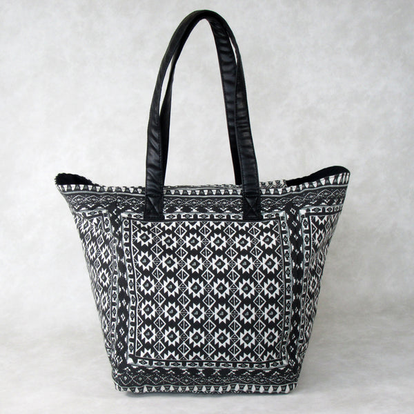 WEEKEND Cotton TOTE Bag with Long Shoulder Straps