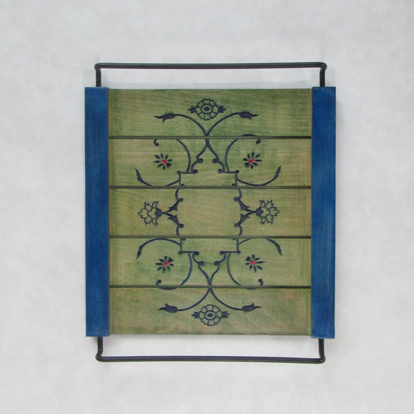 Coffee Table Decorative Tray, Olive: Handcrafted