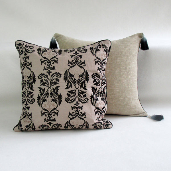 Marrakesh Inspired Embroidered Accent Pillow Cover