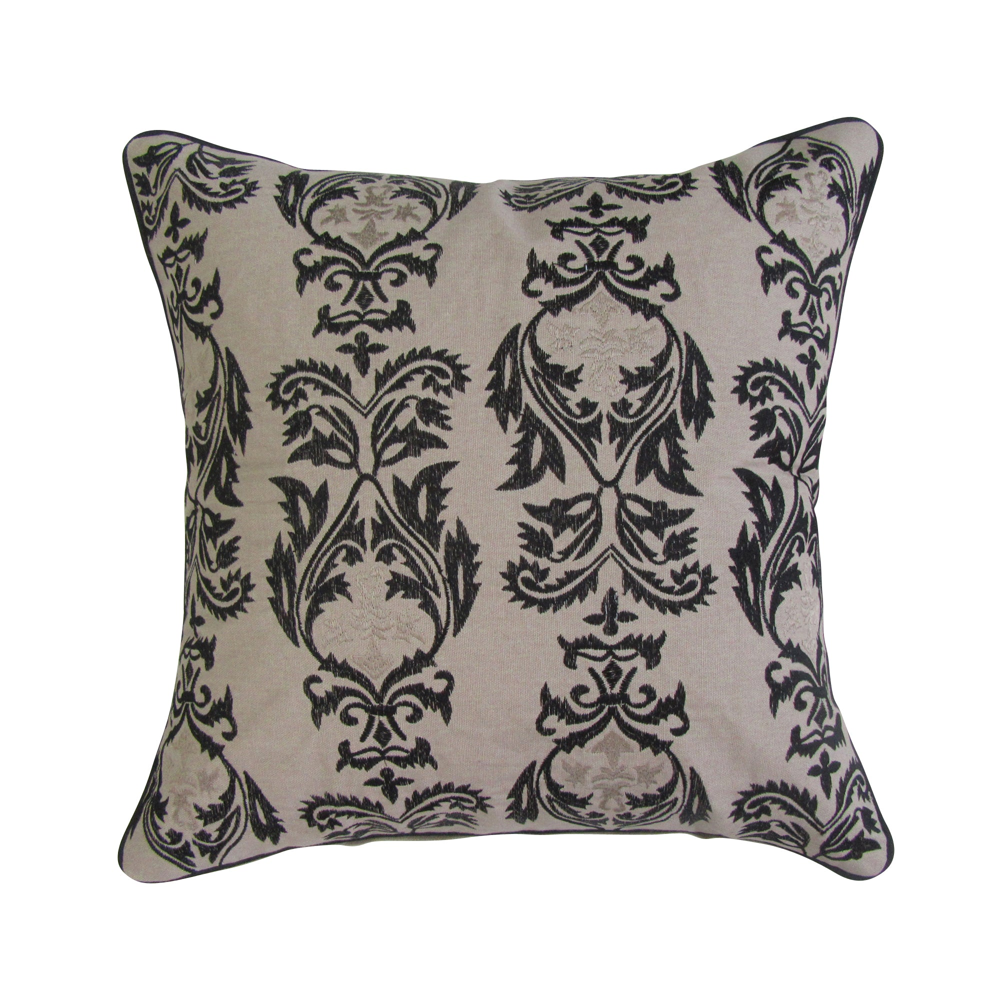 Marrakesh Inspired Embroidered Accent Pillow