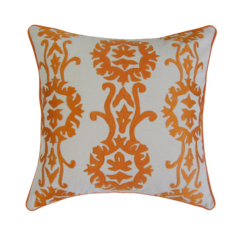 Sun Inspired Embroidered Accent Pillow Covers