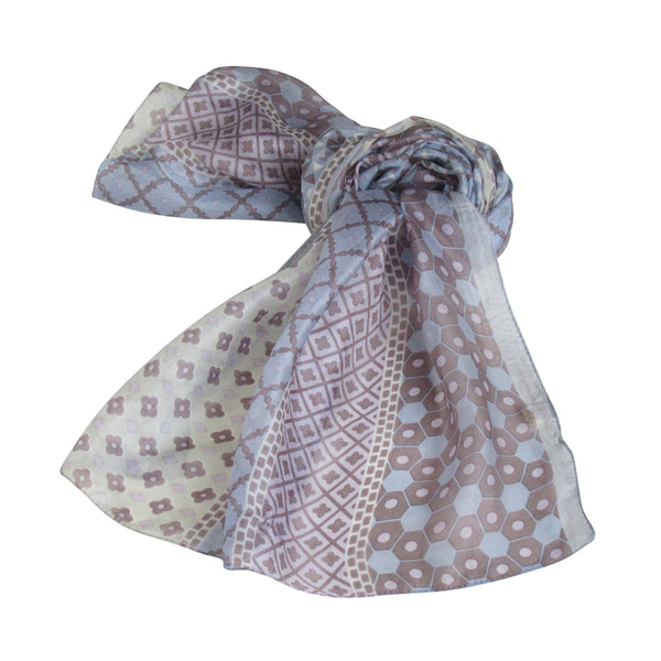 Lavender Shades SILK Scarves