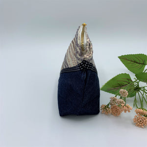 Denim Collection Multipurpose Zipper Pouches