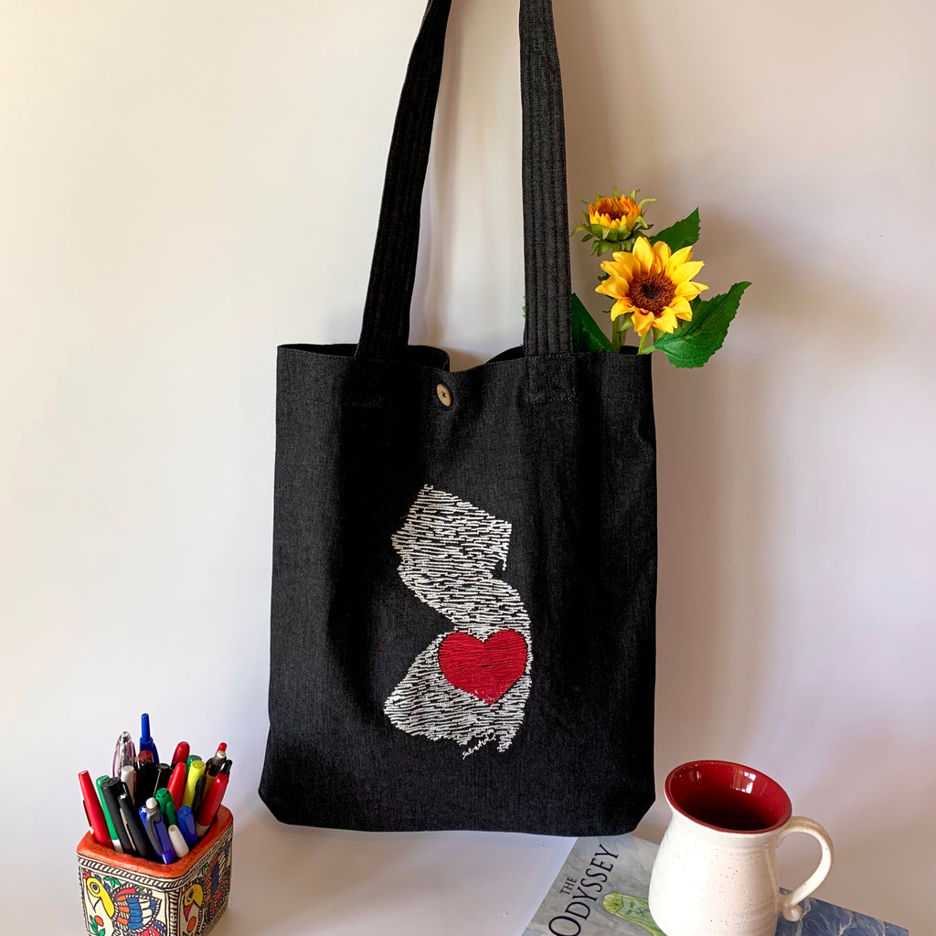 NJ & Denim Collection Tote Bags