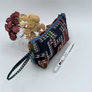 Multipurpose Zipper Pouches; Boat Shape