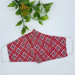 Fabric Reusable Face Mask - Adult (OS) Ikat Print