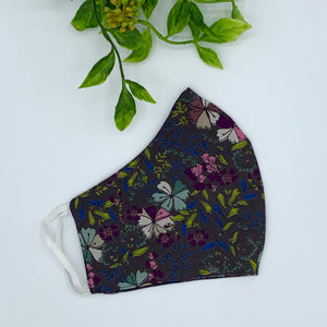 Fabric Reusable Face Mask - Adult (OS) Autumn Foliage