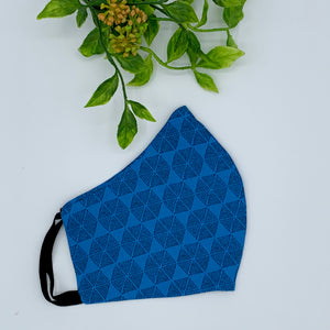 Fabric Reusable Face Mask - Adult (OS) Turquoise