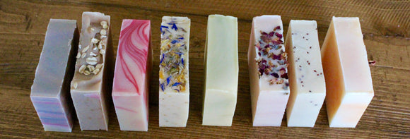 Artisan Cold Processed Soap Bars