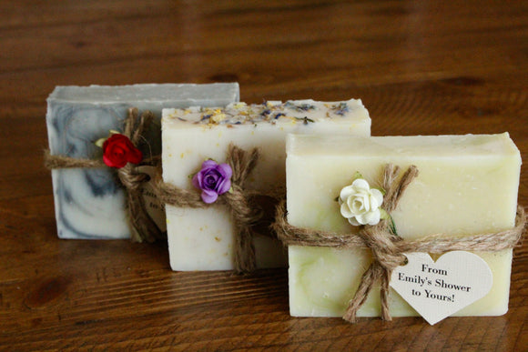 Personalized Soap favors (full sized bars)