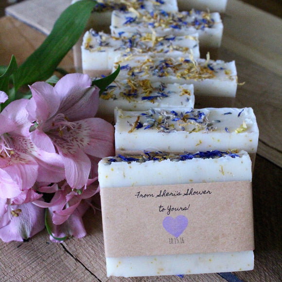 Soap favors,Bridal shower favors,baby shower favors,personalized favors,soap for shower favors, soap wedding favors, lavender wedding, soap