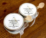 Sugar scrub favors, bridal shower favors scrub, wedding favors, bridal shower sugar scrub