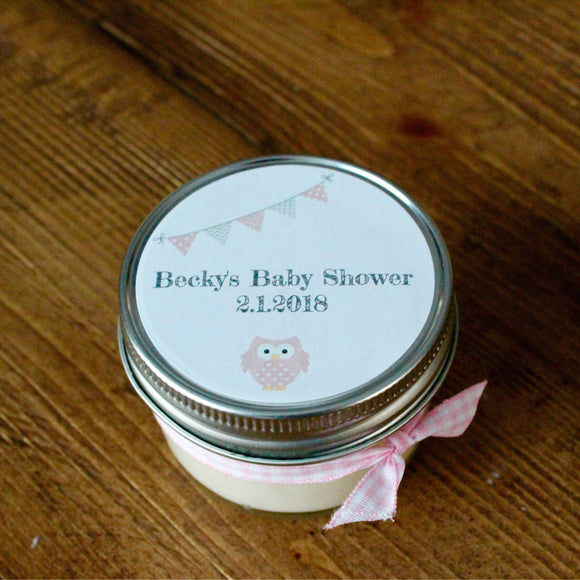 Baby shower, baby shower favors, girl baby shower,girl baby shower favors,baby girl shower,owl baby shower,pink owl,baby shower favors girl