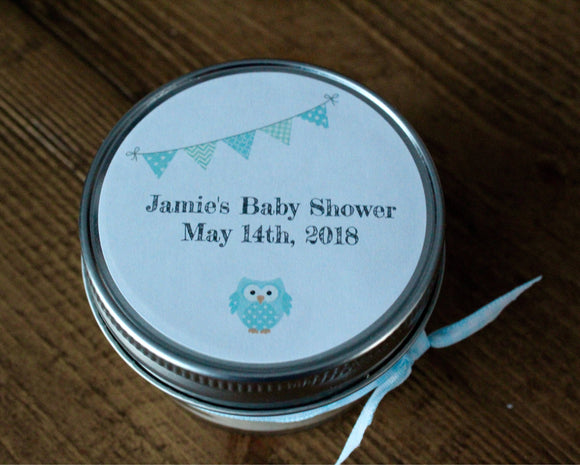 Baby shower, boy baby shower favors, boy baby shower,blue baby shower,baby boy shower,owl baby shower,blue owl baby shower, favors