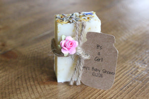 Soap wedding favors, bridal shower favors soap, rustic wedding favors