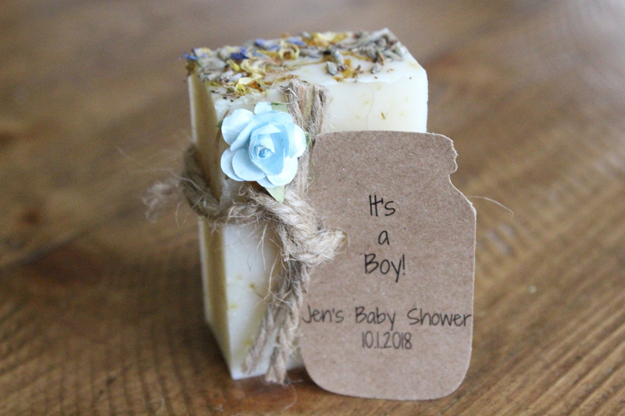 Baby Shower Soap Favour