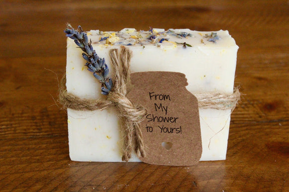 Bridal Shower Favors, Wedding  favors, bridal shower favors soap, rustic, baby shower favor, lavender soap favors, wedding favors for guests