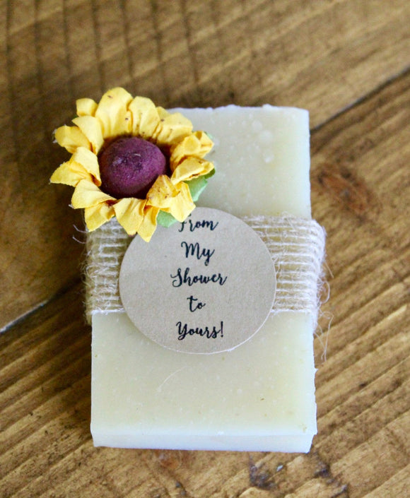 Sunflower Bridal Shower Favors, Sunflower Favors, Sunflower Wedding Favors, Bridal Shower Favors Soap, Sunflower Soap Favors, Sunflowers
