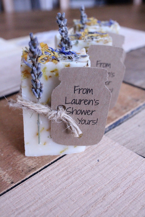 Bridal Shower Favors,wedding favors,wedding favors rustic,Lavender Calendula Guest Soap