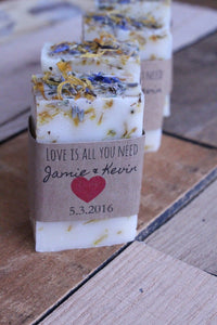 Bridal shower favors, wedding favors for guests, rustic wedding favors, bridal shower favors soap, baby shower favors