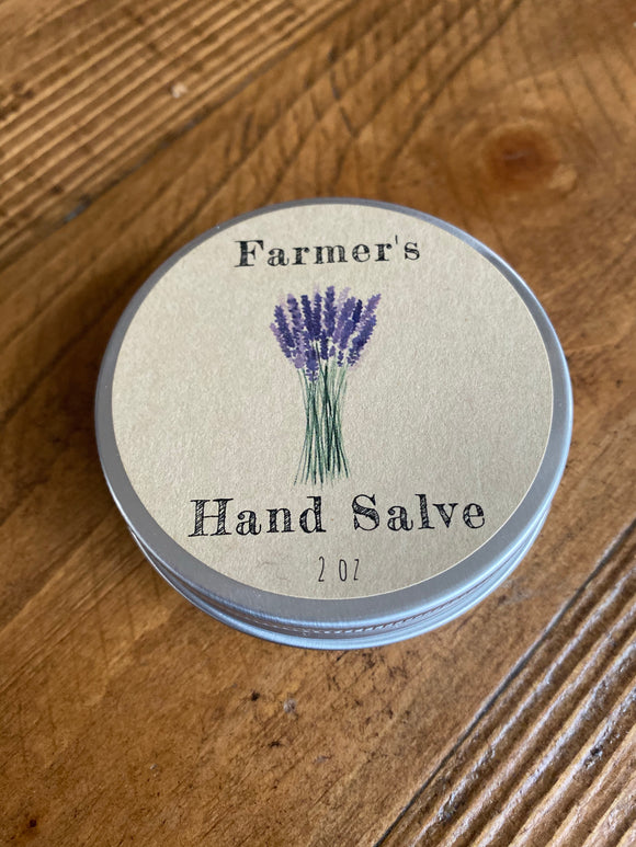 Farmers Hand Salve, Hand cream, hand lotion, dry hands salve