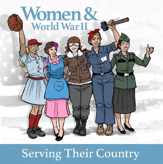 Women & WWII: Serving Their Country ebook by Dr. Kelly A. Spring