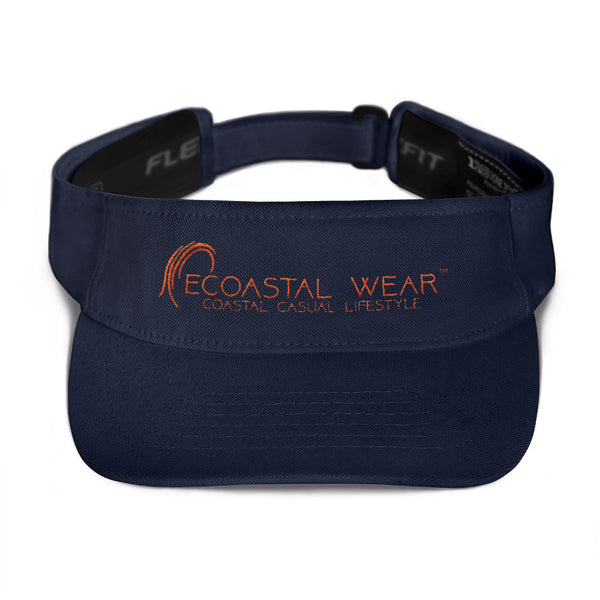 Ecoastal Visor - Ecoastal Wear - American Made Apparel and Eco-Friendly Accessories