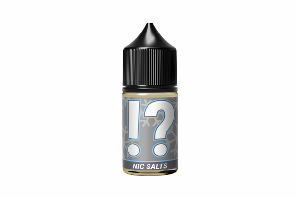 ! + ? = (BLENDS) Salt Nic