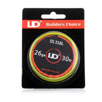 UD - SS316L Builders Choice Wire - Vapers Creed